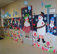 Classroom Snowman Door & Hallway decoration | Classroom ...