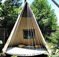 Outdoor Trampoline Teepee Hammock | For the Home ...