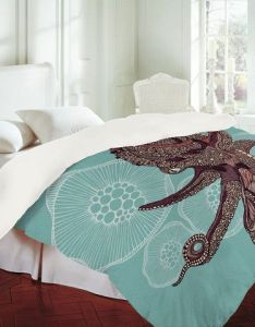 Valentina ramos octopus bloom duvet cover from deny designs shop more products on wanelo also bedding design pinterest ocean themes and rh
