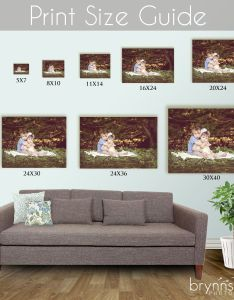 Print size guide my passion photography pinterest also wall art sizes elitflat rh