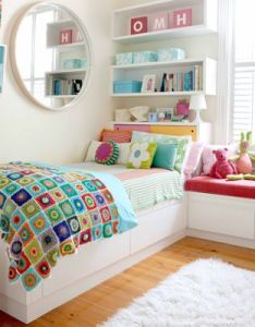 Cute room childrens bedrooms girlskids bedroom ideas also girls rooms pinterest shelving bright colours and rh