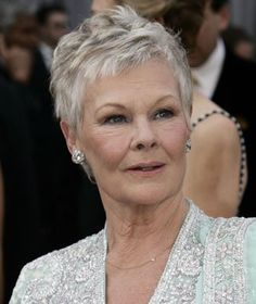 Judi Dench Hair Google Search Chemo Hair Styles Pinterest