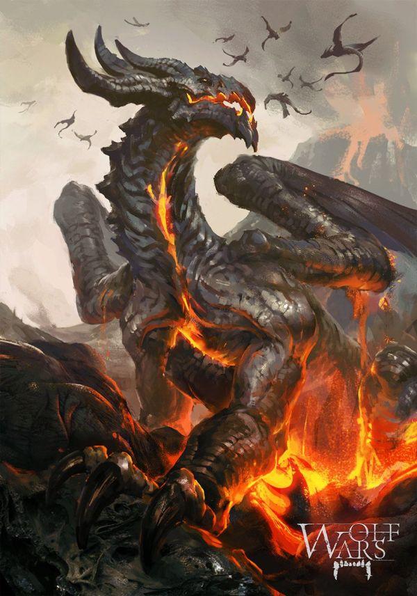 Fire Dragon deviantART