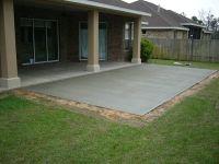 cement patio | Gardens - Outdoor Living | Pinterest ...