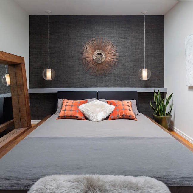 Bedroom accent wall grey also master pinterest rh