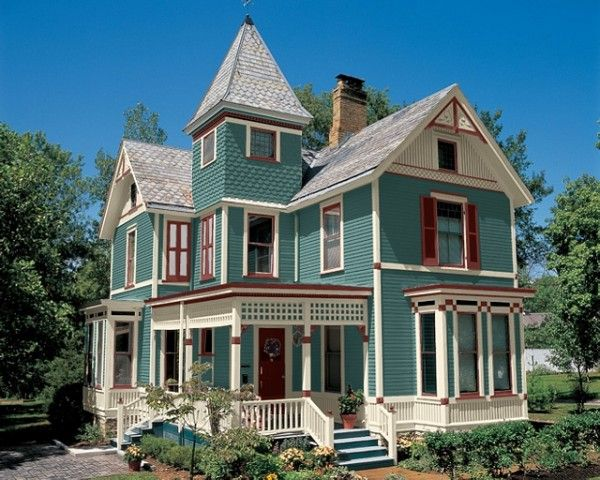 Tri Color Scheme House Paint
