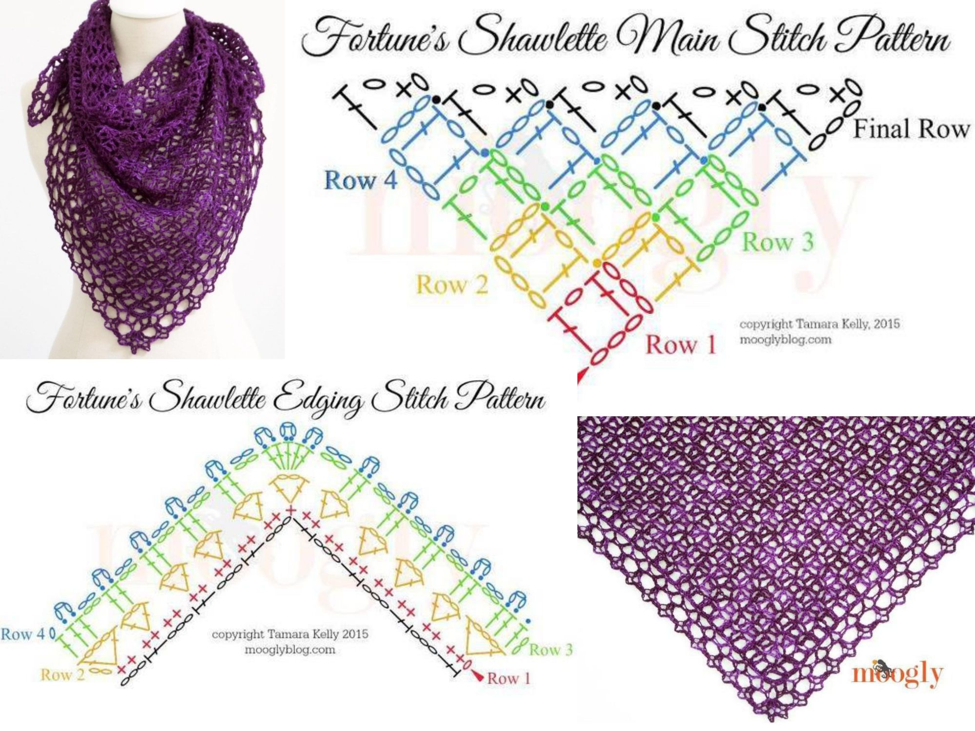 how to make crochet pattern diagram whirlpool duet washer wiring fortune 39s shawlette a tutorial on http www