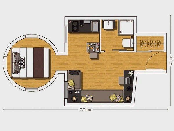 20 Square Meters Floor Plans