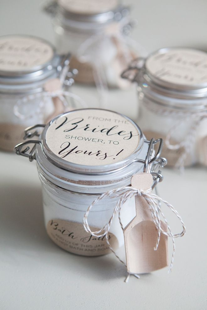 Bridal Shower Favor Ideas