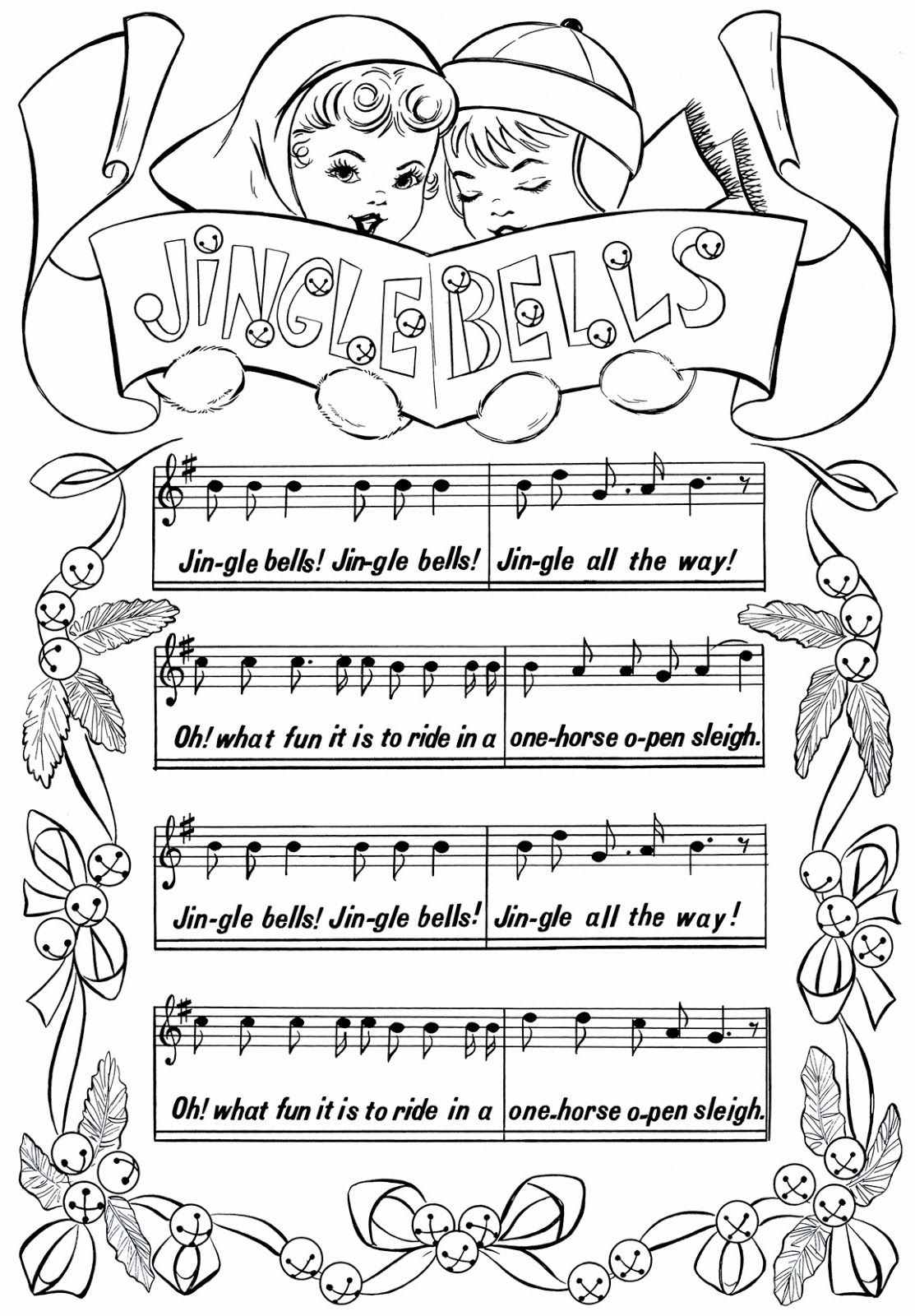 Free Printable Jingle Bells Sheet Music It is my opinion