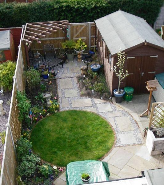 Small Garden Design Garden Pinterest Small Garden Design