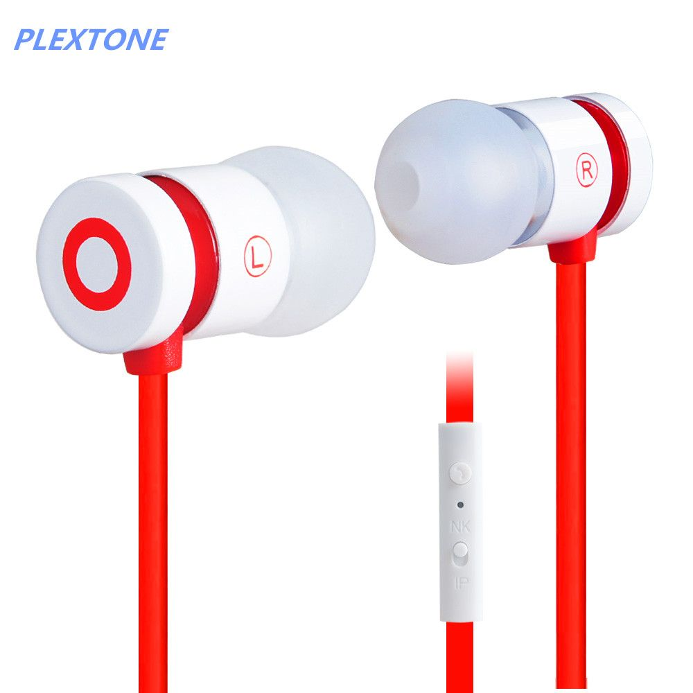 medium resolution of plextone tuning x38m universal wire control cell phone headset headphones noodles heavy bass line the magic