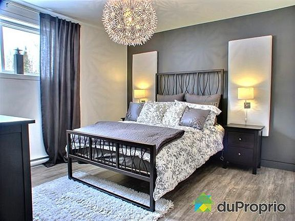 Beautiful teen bedroom decor  Grey and white Bedroom Belle chambre dado en gris et blanc