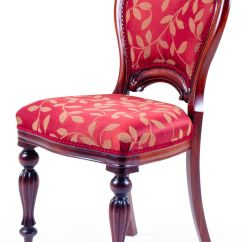 Dining Chair Upholstery Church Chairs Bertolini Victorian Upholstered Back A
