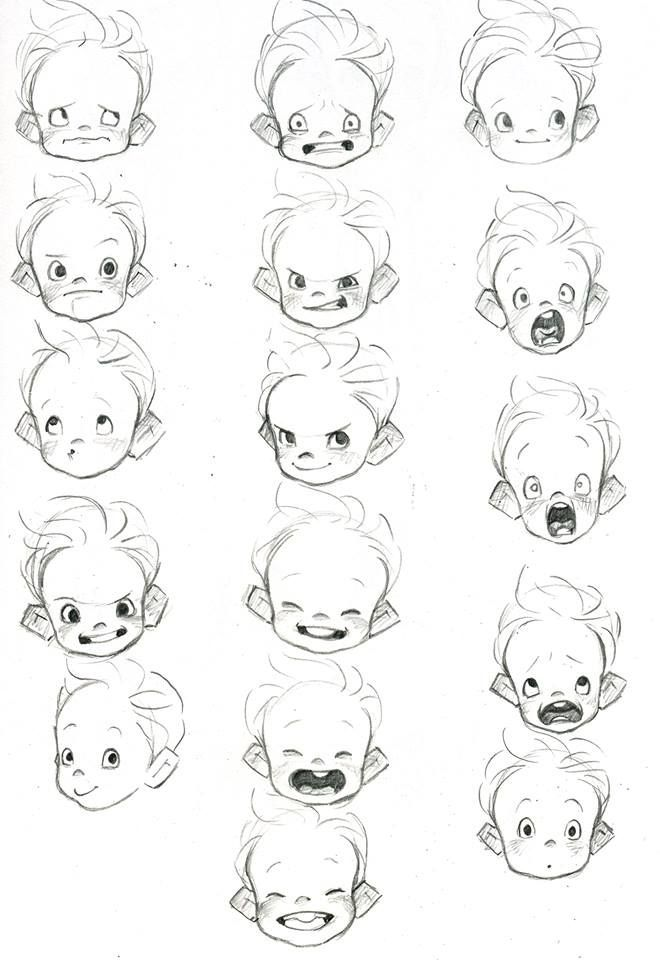 This is a great example of baby heads. I've been studying