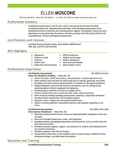 medical records technician resume