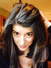 1 year- growing gray hair