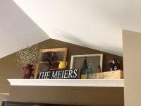 ledge decor - Google Search   Dining Room Ledge Decor ...