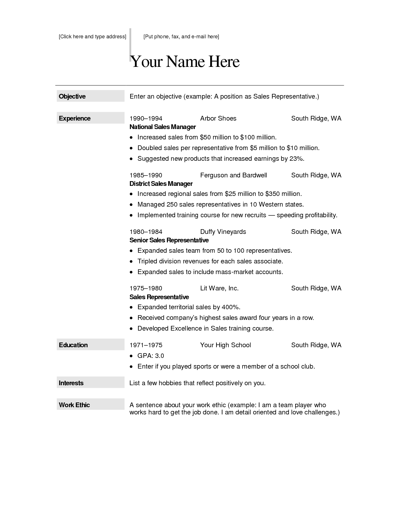 Free Resume Template For Mac Free Creative Resume Templates For Macfree Creative Resume