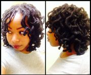 curly locs style natural hair