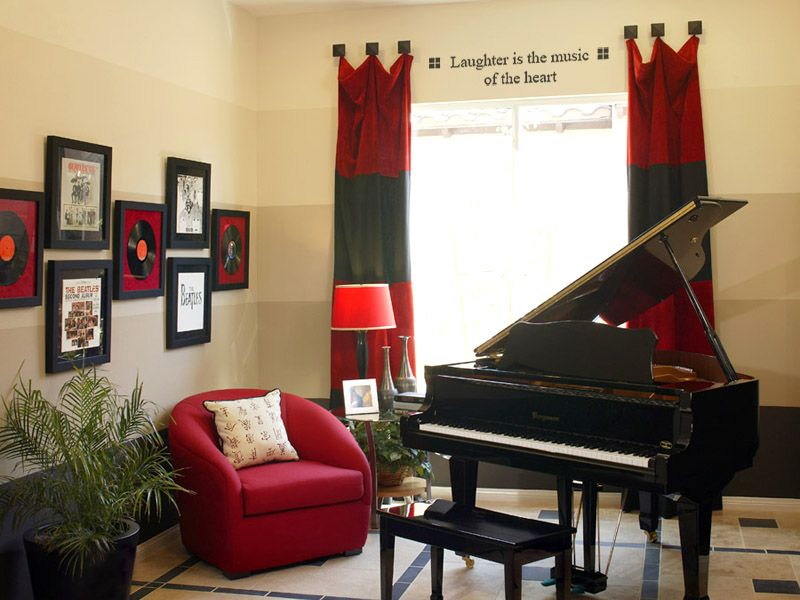 A Music Room Idea Dream House Pinterest My House Decorating