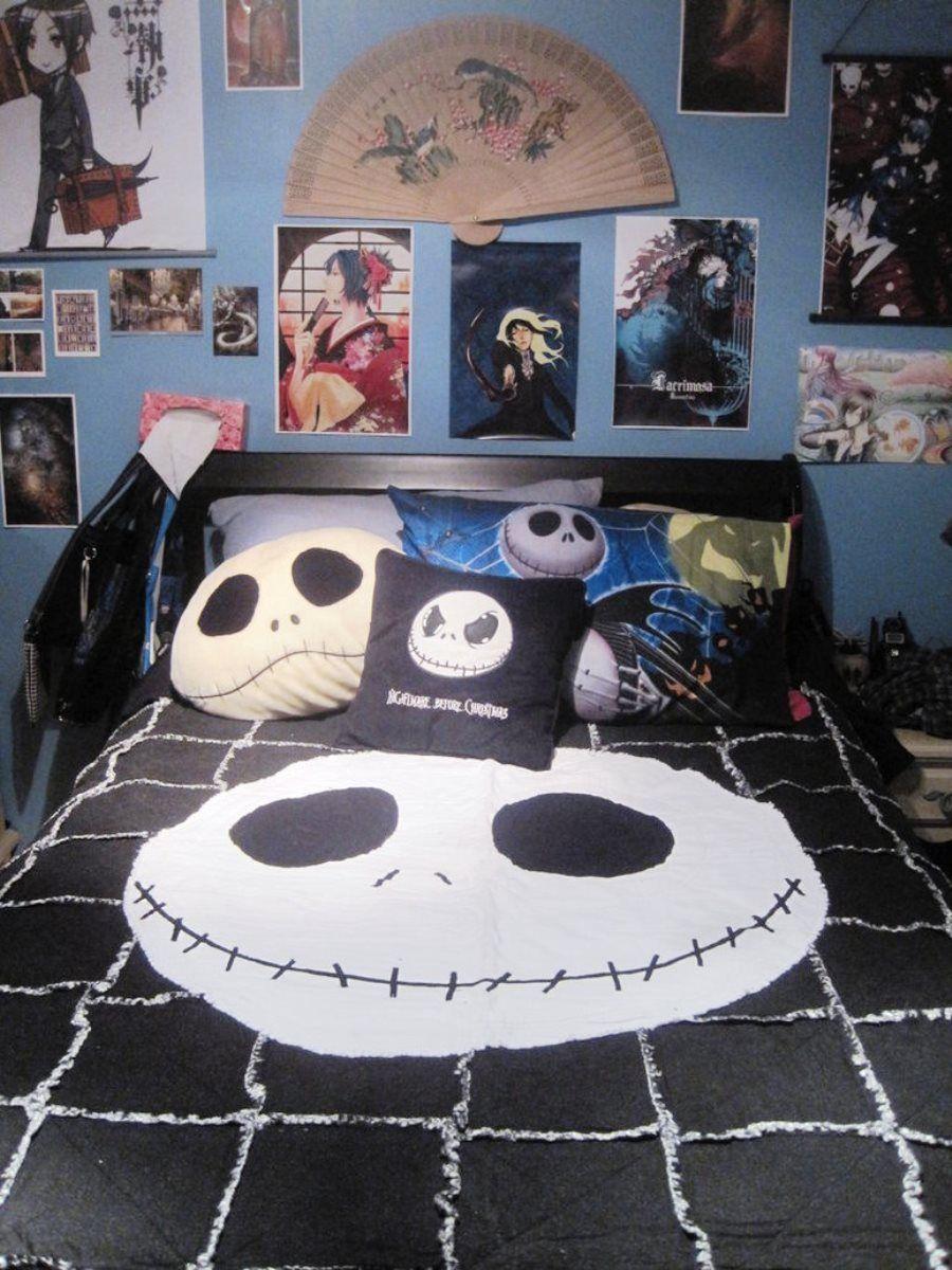 Best Nightmare Before Christmas Room Decor Boy Rooms Ideas