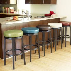 Kitchen Counter Bar Modern Cabinet Knobs Stratmoor Teal Swivel Stool Stools