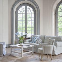Ekeskog Sofa Slipcover Karlstad Three Seat Bed Dimensions Bemz Cover For In Sandhamn Stripe Blue White
