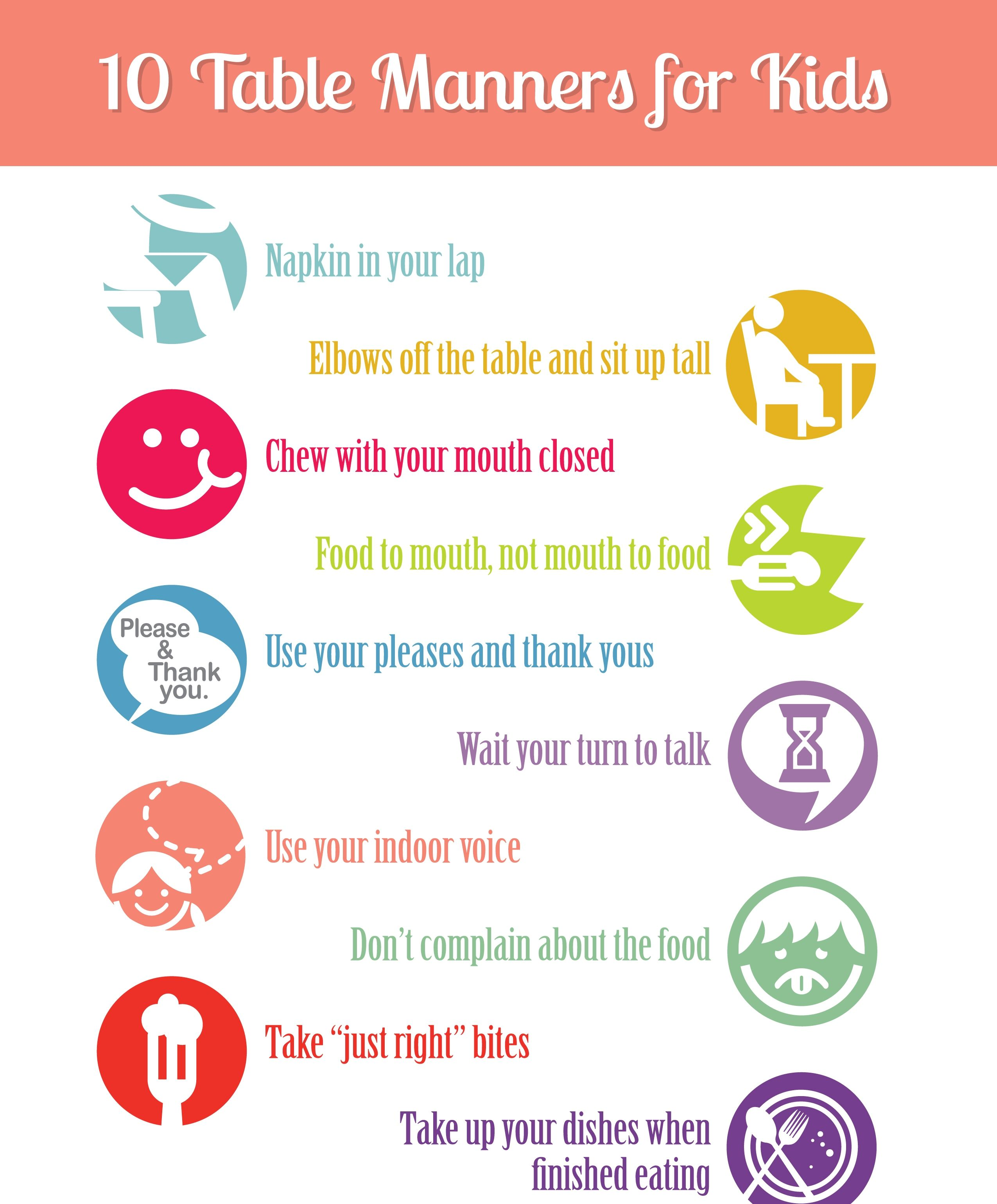 Table Manners For Kids Madraasi