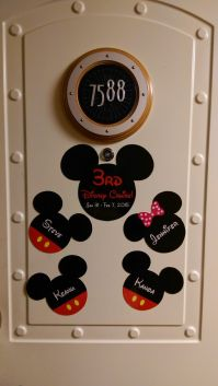disney cruise door magnet ideas