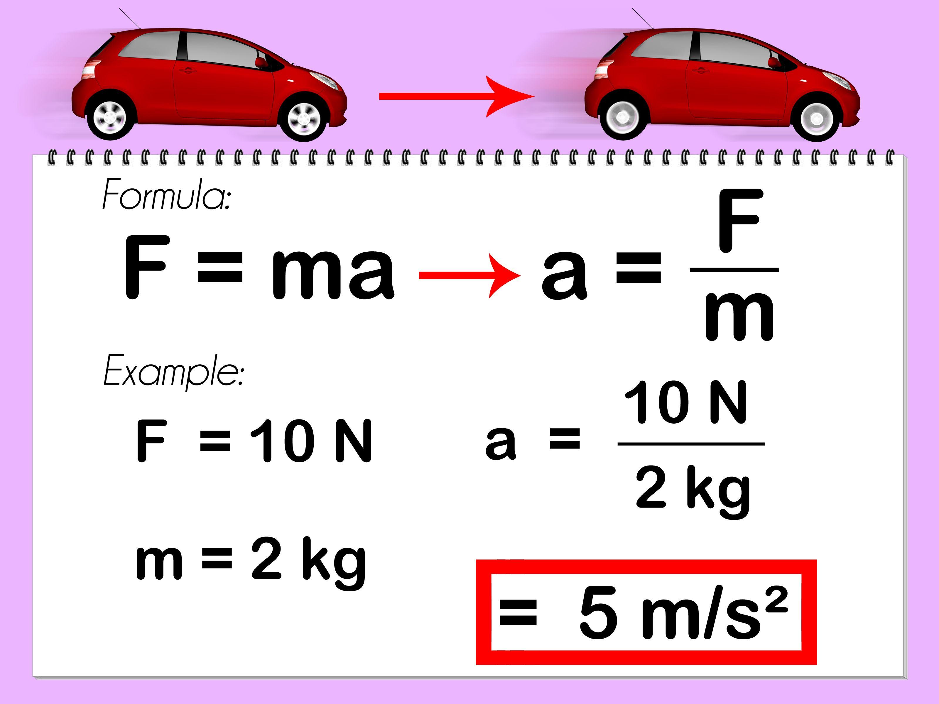 Calculate Acceleration