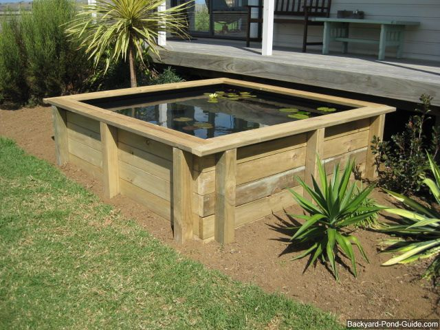 Above Ground Water Garden Kits