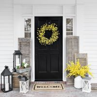 Doorways are for decorating. | Spring is in the Air ...