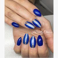 Nail art gel nails acrylic nails pointed nails almond ...