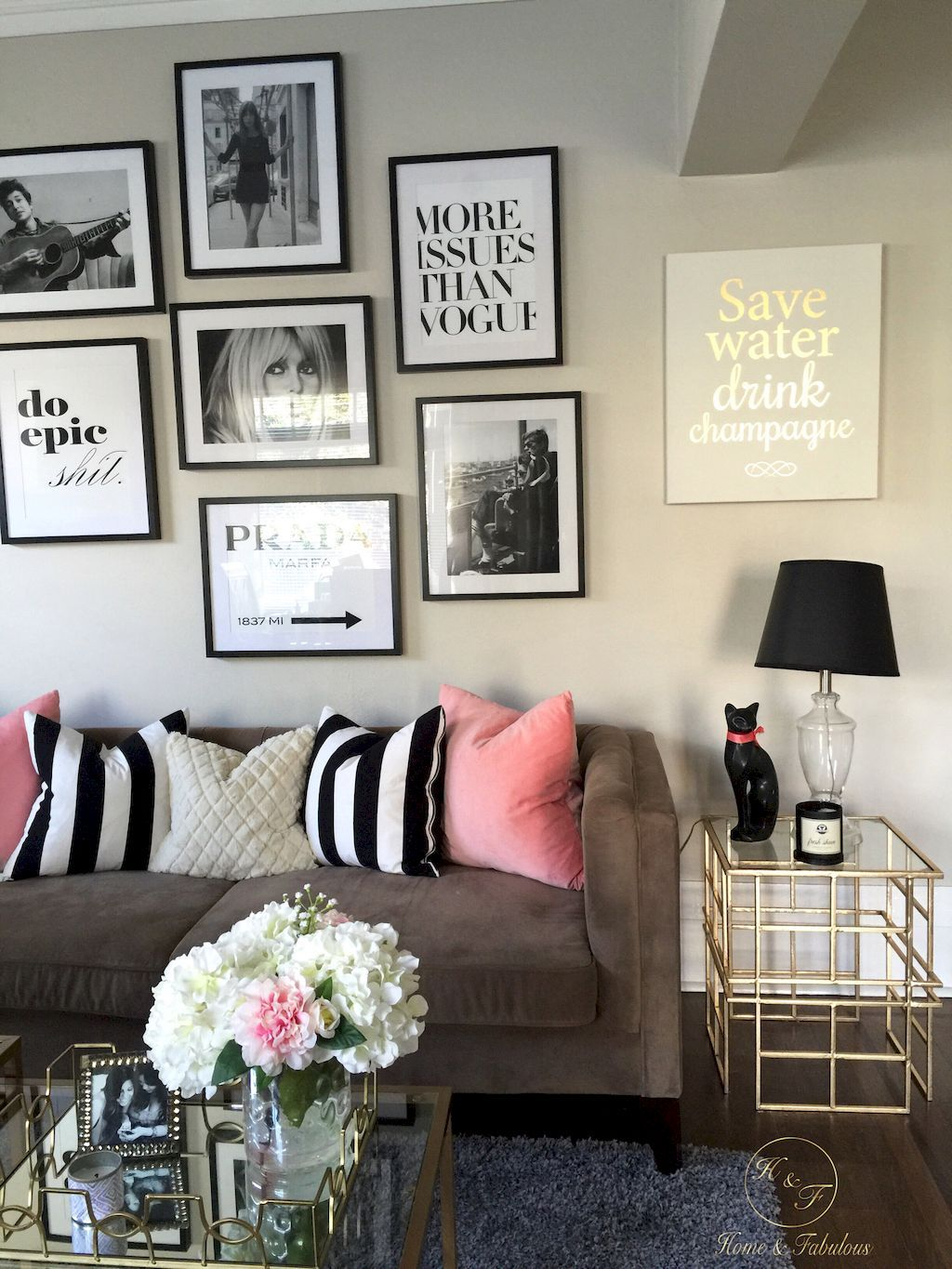 graceful feminine living rooms ideas decor design trends also room rh pinterest
