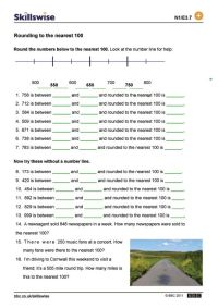 Rounding and estimating worksheet preview | Upper grade ...