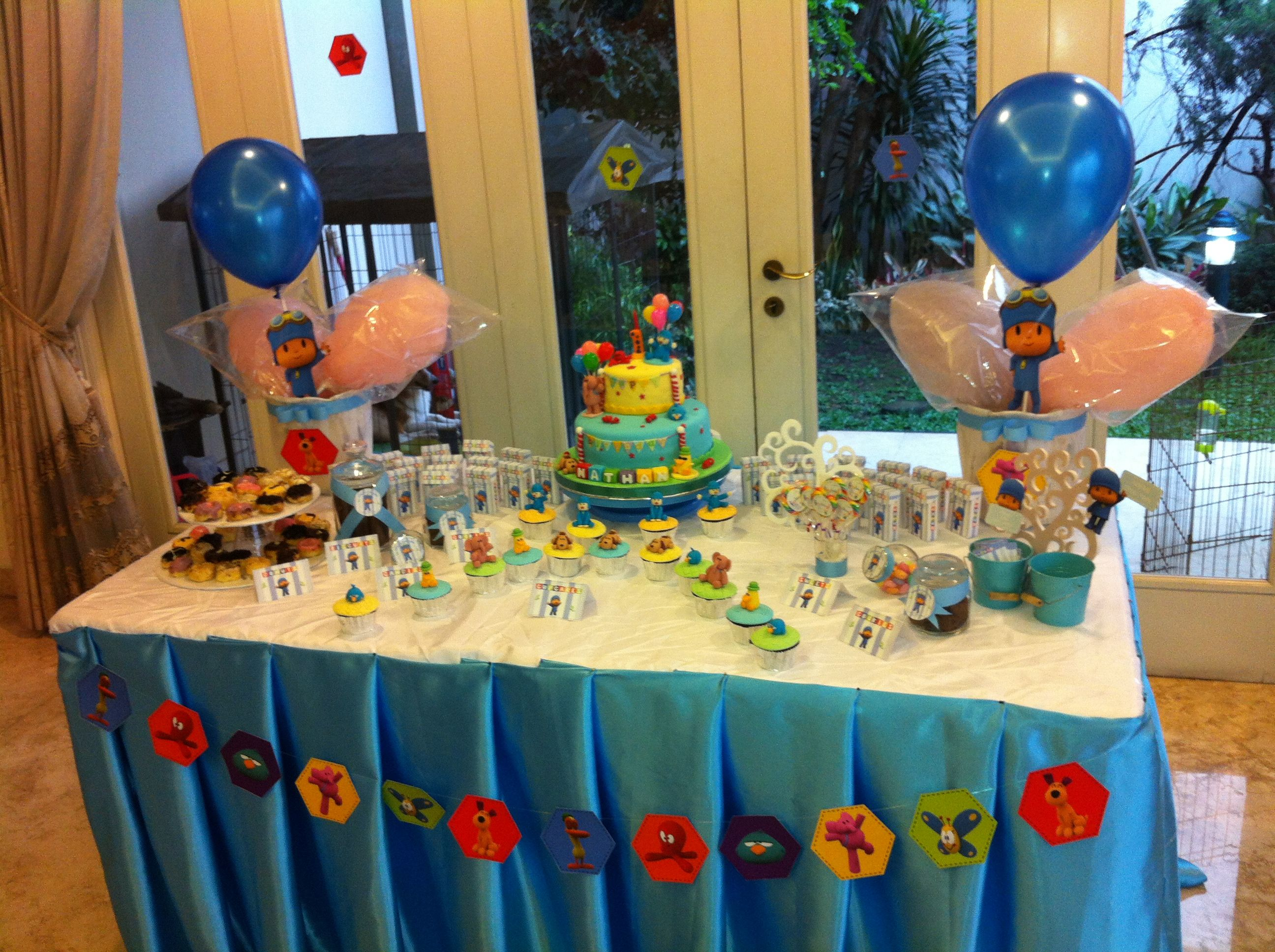 Decoraciones De Fiestas Infantiles Pocoyo Party Decor Idea6 2nd Birthday Pocoyo Party Ideas