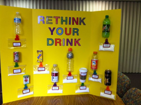 Health Fair - Sugar Content In Drinks. Promotion