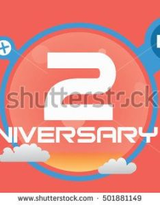 years anniversary logo with rainbow color for birthday weeding celebration and party design pinterest also rh