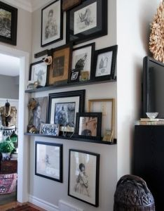 Gallery wall also decoracion pinterest ideas and rh