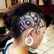 tribal design hair gorgeous