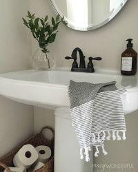 Crazy Wonderful: powder room decor, simple bathroom design ...