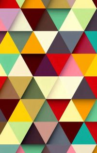 Wallpaper / Triangle Texture / Color Texture / Geometric ...