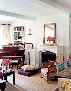 Interior design also decor inspiration boho chic in manhattan gardens the fireplace rh pinterest