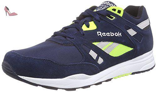 reebok ventilator pop chaussures de tennis mixte adulte marine chaussures reebok