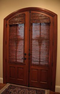 Custom made blinds for arched doors | Decorating ...