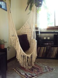 Hippy Hammock // Macrame Chair. | Bohemian Living ...