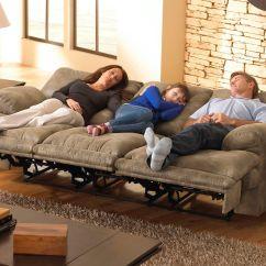 Lane Triple Reclining Sofa Southern Beds Uk Montana Lay Flat W Drop Down Table