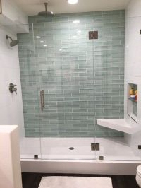 Hall Blanco Ceramic wall tile 8 x 20, New Haven Glass ...