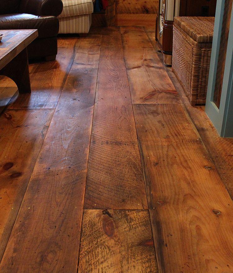Our Rustic Circle Sawn Fir flooring will add a